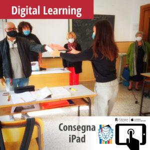 1 consegna iPad 300x300 - Digital Learning - consegna degli iPad