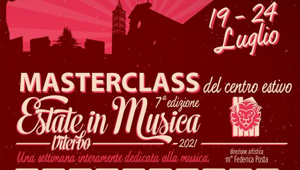 1 evidenza estate in musica 2021 600x340 - Estate in Musica 7a edizione - MASTERCLASS del Centro Estivo 2021