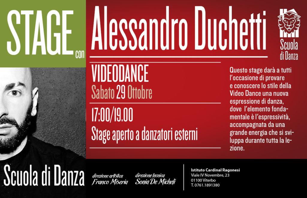 2 ALESSANDRO DUCHETTI Videodance news 1024x661 - Scuola Danza. Stage con Alessandro Duchetti