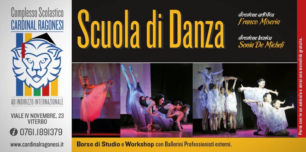 Flyer Danza Ragonesi 2016 17 bianca - Scuola Danza. Inizio lezioni nuovo anno.