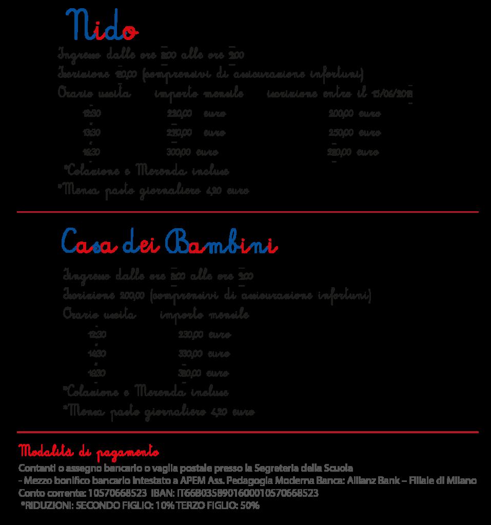 Nido e CasaBambini listino 2018 ok 957x1024 - A Settembre 2018 apre il primo Nido Montessori nella Provincia di Viterbo