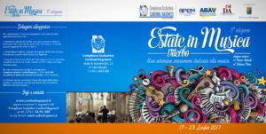 """REV 3 2017 Estate in Musica pieghevole RAGONESI esterno 300x151 - 17/23 Luglio. """"ESTATE IN MUSICA 2017"""" 3a Edizione"""