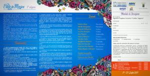 """REV 3 2017 Estate in Musica pieghevole RAGONESI interno 2 300x152 - 17/23 Luglio. """"ESTATE IN MUSICA 2017"""" 3a Edizione"""