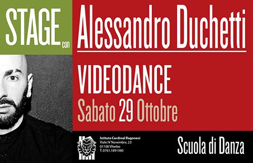 2 ALESSANDRO DUCHETTI Videodance news cop - Estate in Musica - Viterbo • Luglio 2021