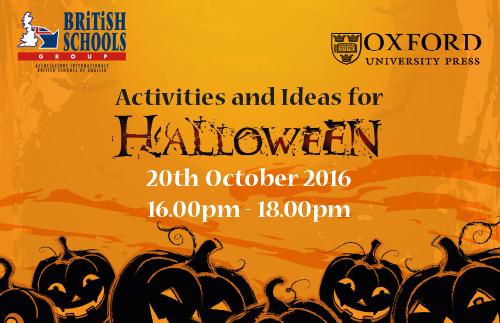 "Halloween20october Oxford BRITISH Viterbo - Seminario ""Activities and Ideas for Halloween"" Oxford University Press"