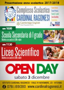 secondaria liceo open day ragonesi 2017 18 212x300 - 3 dicembre. Open Day Ragonesi!