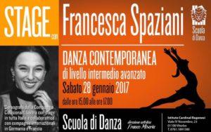 STAGE FRANCESCA SPAZIANI DANZA CONTEMPORANEA 300x188 - Sabato 28 gennaio. Scuola Danza. Stage con Francesca Spaziani e Alessandro Duchetti
