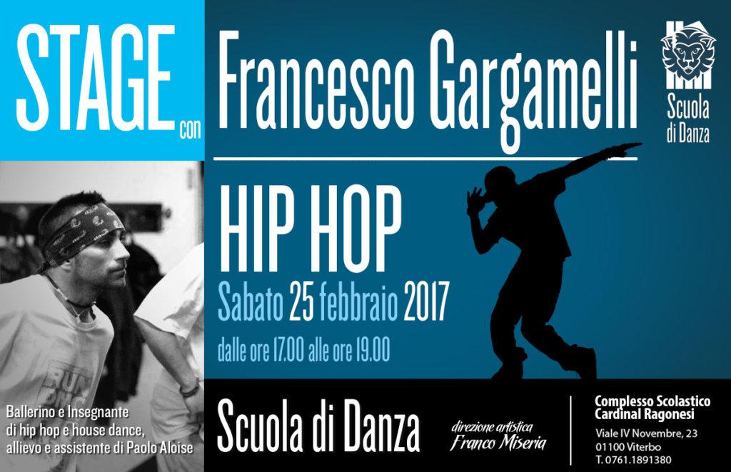 2 Francesco Gargamelli Stage HIPHOP 2017 news 1024x661 - Sabato 25 febbraio. Scuola Danza. Stage con Francesco Gargamelli - Hip Hop
