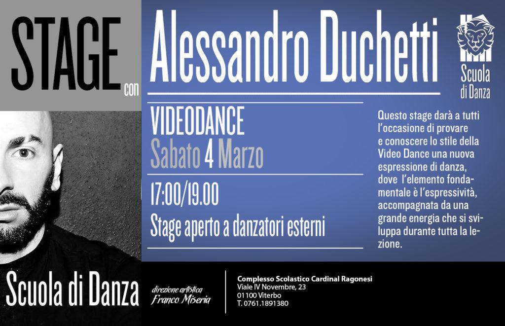 4MARZO ALESSANDRO DUCHETTI Videodance news 1024x661 - Sabato 4 Marzo. Scuola Danza. Stage con Alessandro Duchetti - Videodance