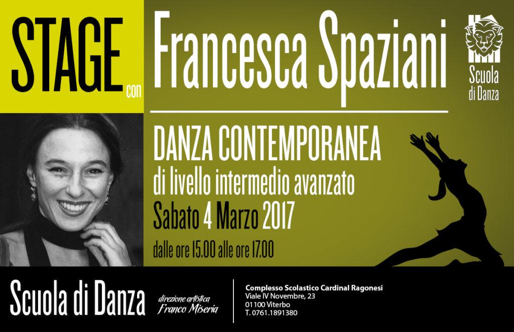 Francesca Spaziani StageDanzaContemporanea 2017 MARZOnews 1024x661 - Sabato 4 Marzo. Scuola Danza. Stage con Francesca Spaziani