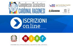 NEWS Iscrizione Online RAGONESI 2017 18 300x194 - 6 febbraio. Complesso scolastico Cardinal Ragonesi. Termine iscrizioni on line a.s. 2017-2018.