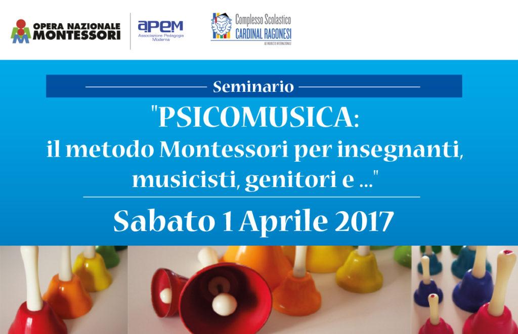 Seminario2017 Psicomusica Montessori news 1024x661 - 1 aprile. PSICOMUSICA: il metodo Montessori per insegnanti, musicisti, genitori e ...