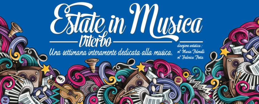 copertina Estate in Musica 2017 1 840x340 - Estate in Musica - Viterbo • Luglio 2021