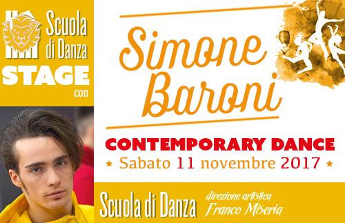 Simone Baroni Stage contemporary modern novembre 2017 copertina2 - Estate in Musica - Viterbo • Luglio 2021
