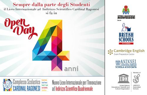 1 quadriennaleopenday - Il primo liceo quadriennale della Tuscia attivo nell'anno scolsatico 2017/2018 al Cardinal Ragonesi