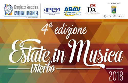 EVIDENZA EstateinMusica - Estate in Musica - Viterbo • Luglio 2021