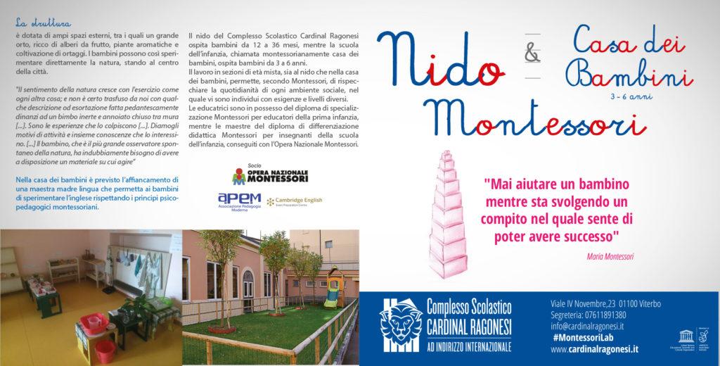 rev1 FRONTE pieghevole RAGONESI NIDOeCASA 1024x520 - A Settembre 2018 apre il primo Nido Montessori nella Provincia di Viterbo