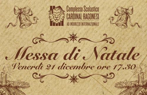 Evidenza MESSANATALE news - Santa Messa di Natale • 21 dicembre • ore 17:30