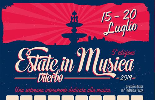 NEWS evidenza ESTATEinMUSICA 2019 - Estate in Musica - Viterbo • Luglio 2021