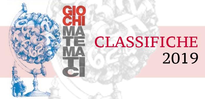 Giochi Matematici classifiche 2019 - Giochi Matematici BOCCONI - CLASSIFICHE 2019