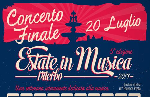 Evidenza EiM concerto news - Estate in Musica - Viterbo • Luglio 2021