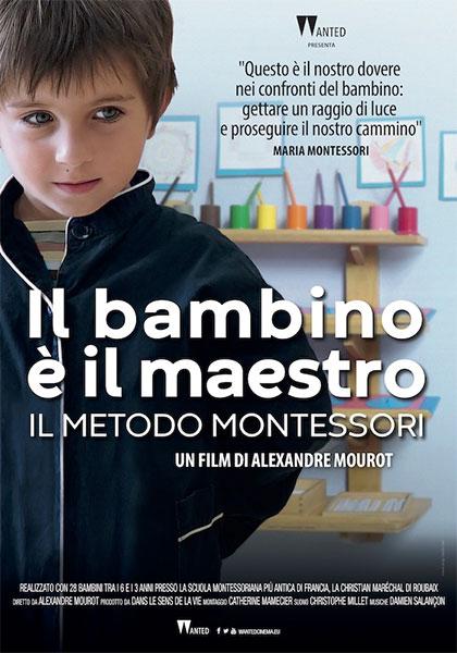 """locandina film il bambino è il maestro - Invitiamo alla visione del film """"Il bambino è maestro"""" Il metodo Montessori"""