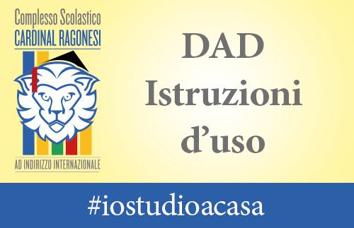 DAD COMUNICAZIONI - DAD - Istruzioni d'uso