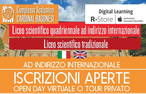 Evidenza openday 2021 news - LICEO SCIENTIFICO - Incontro famiglie iscritti e Open Day interessati 26•05•2021