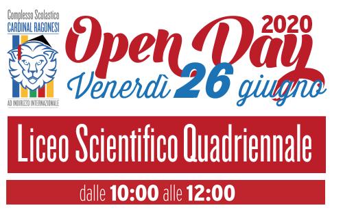 OK Evidenza liceo 26giugno2020 - OPENDAY - Venerdì 26 giugno - Liceo Scientifico