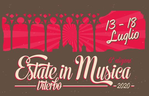 evidenza Estate in Musica 2020 - Estate in Musica - Viterbo • Luglio 2021