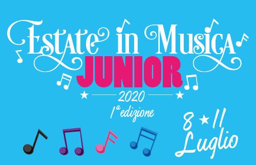 evidenza JUNIOR2020 - Estate in Musica - Viterbo • Luglio 2021