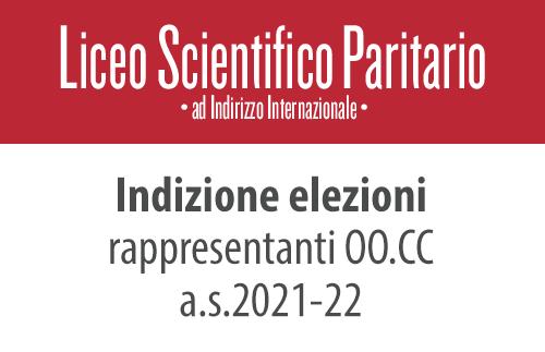 evidenza elezioni scientifico 2021 - Indizione elezione rappresentanti OO.CC. a.s. 2021-22