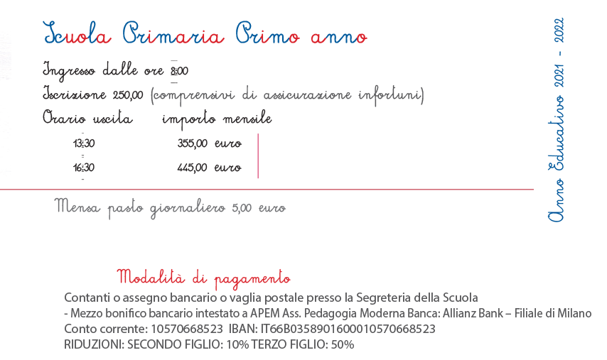 listino PRIMARIA 21 22 - Scuola Primaria