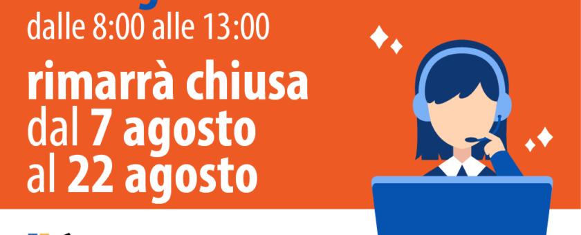 segreteria chiuso agosto RAGONESI2021 Mesa 840x340 - Estate in Musica - Viterbo • Luglio 2021